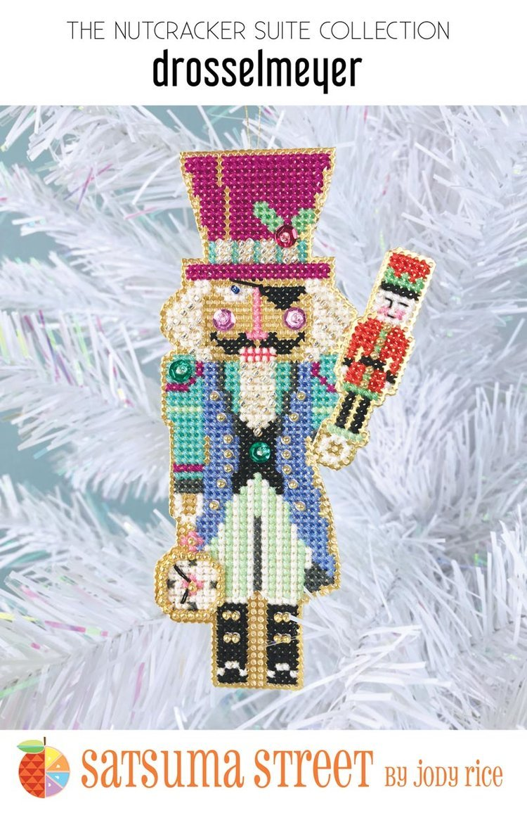 Satsuma - Drosselmeyer Nutcracker ornament kit