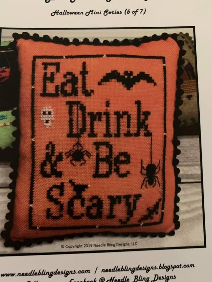 Needle Bling - Eat - Drink - Be Scary