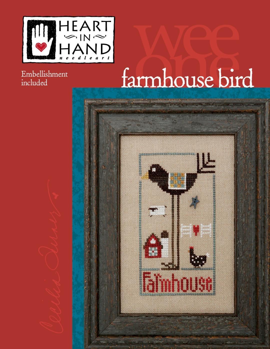Heart in Hand - Farmhouse Bird