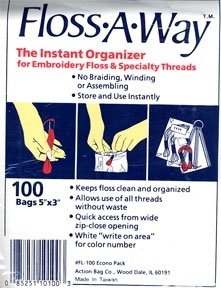 Floss-A-Way Bags 100 Count
