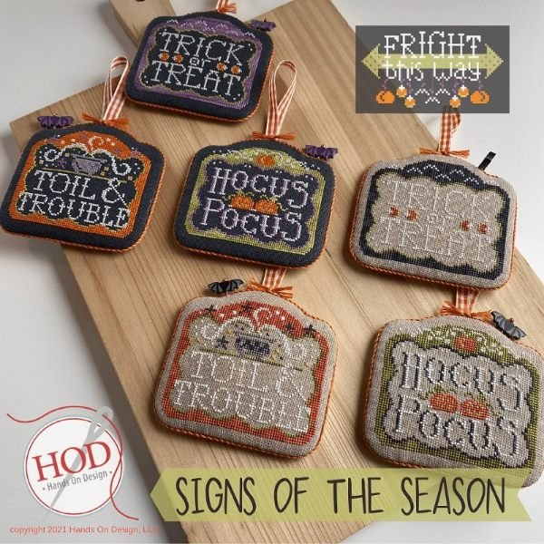 Hands On Design - Signs of the Season (Fright this Way)