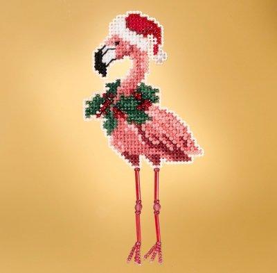 Mill Hill - Holiday Flamingo