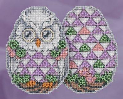 Mill Hill - Owl Egg Jim Shore eggs