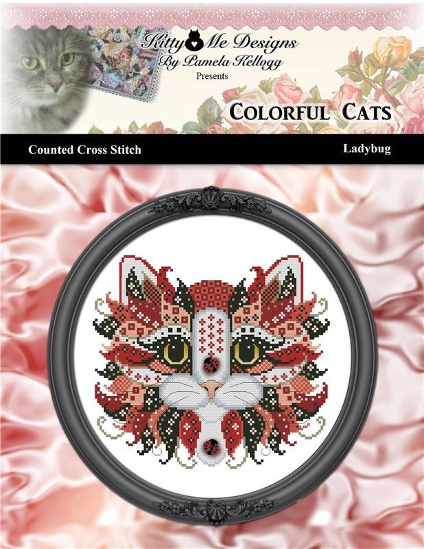 Kitty & Me - Ladybug, Colorful Cats