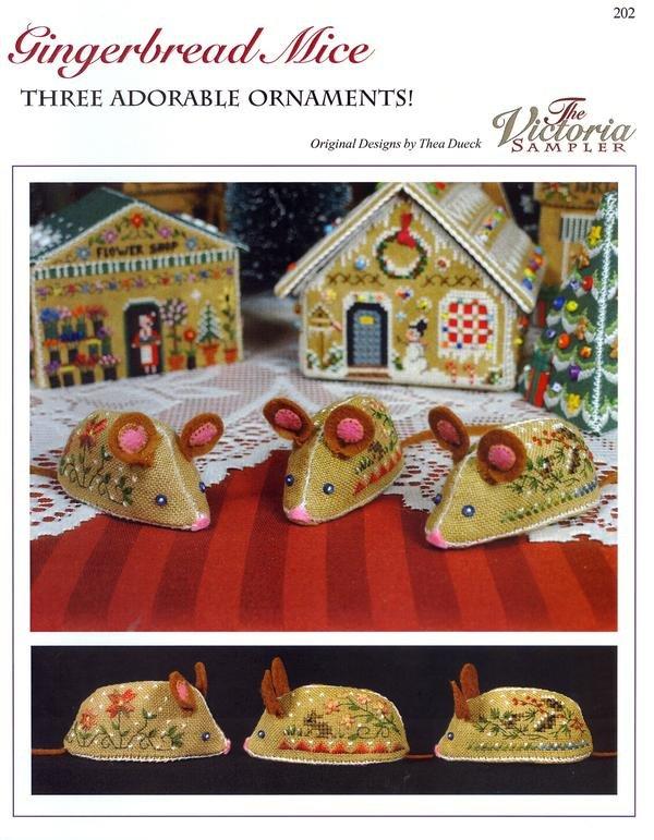 Victoria Sampler - Gingerbread Mice
