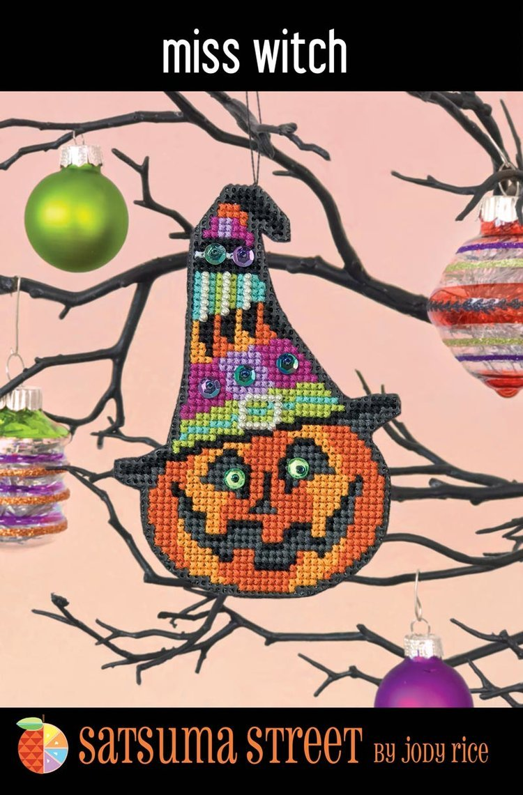 Satsuma - Miss Witch  ornament kit