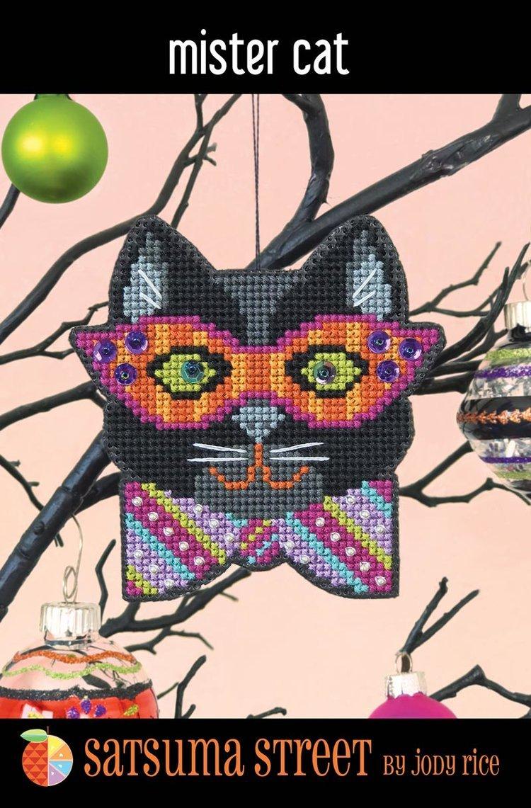 Satsuma - Mister Cat ornament kit