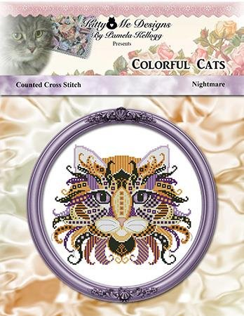 Kitty & Me - Nightmare, Colorful Cats
