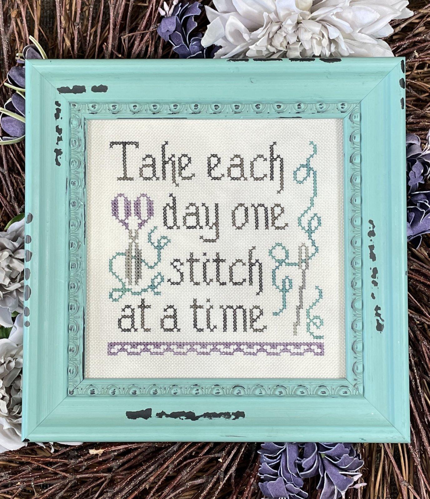 My Big Toe - One Stitch at a Time