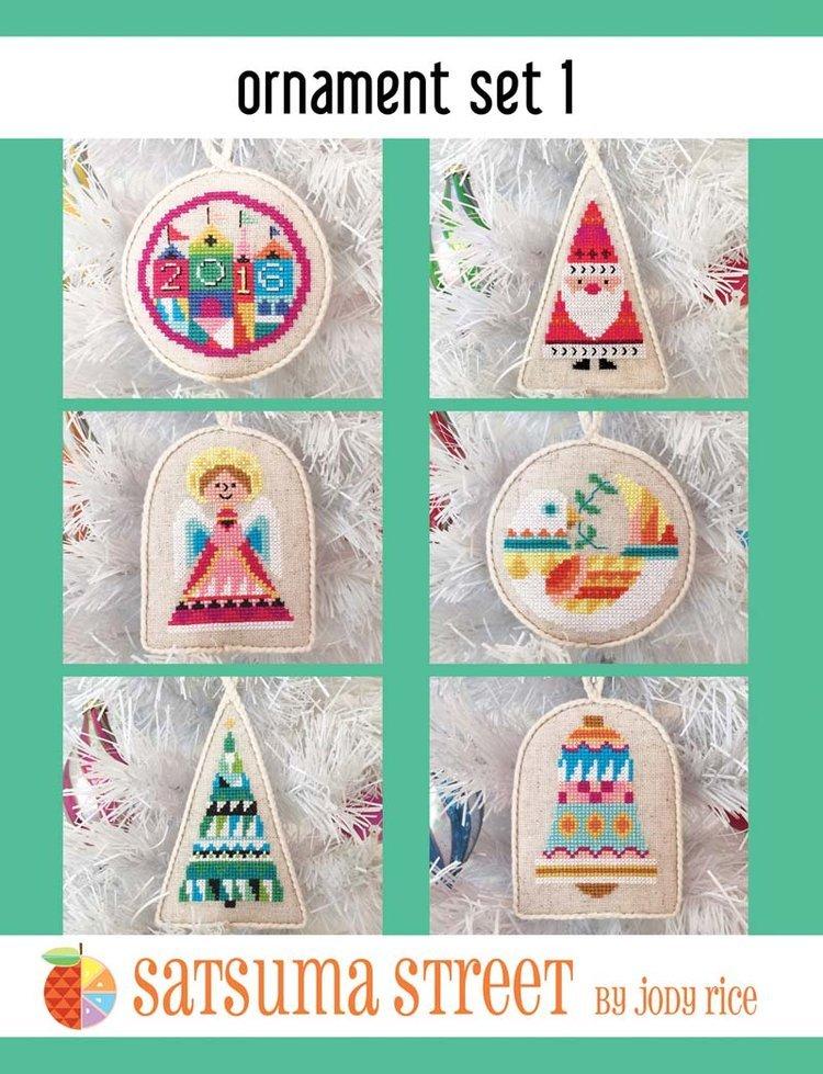 Satsuma - Ornament set 1