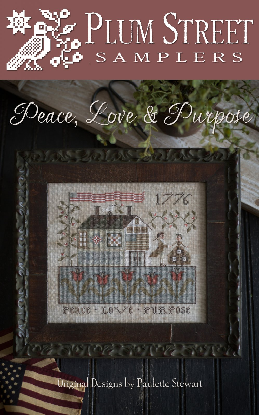 Plum Street Samplers - Peace Love and Purpose