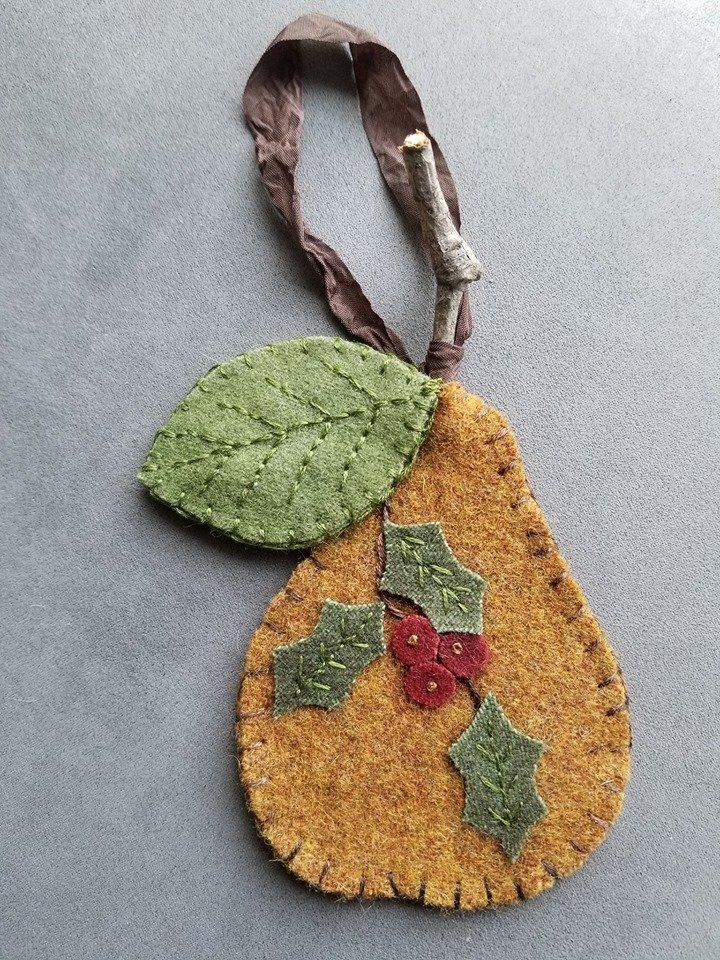 Caths - Christmas Pear Ornament
