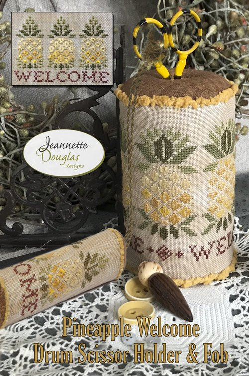 JDD - Pineapple Welcome Drum & Fob