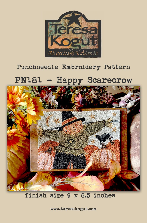 Teresa Kogut - Happy Scarecrow (Punchneedle)