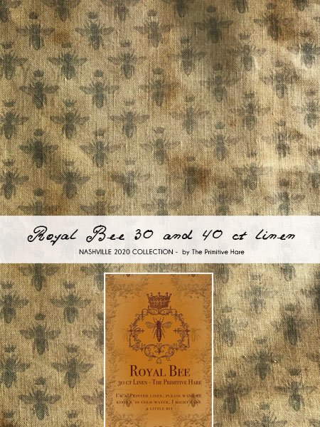 Primitive Hare - Royal Bee Linen