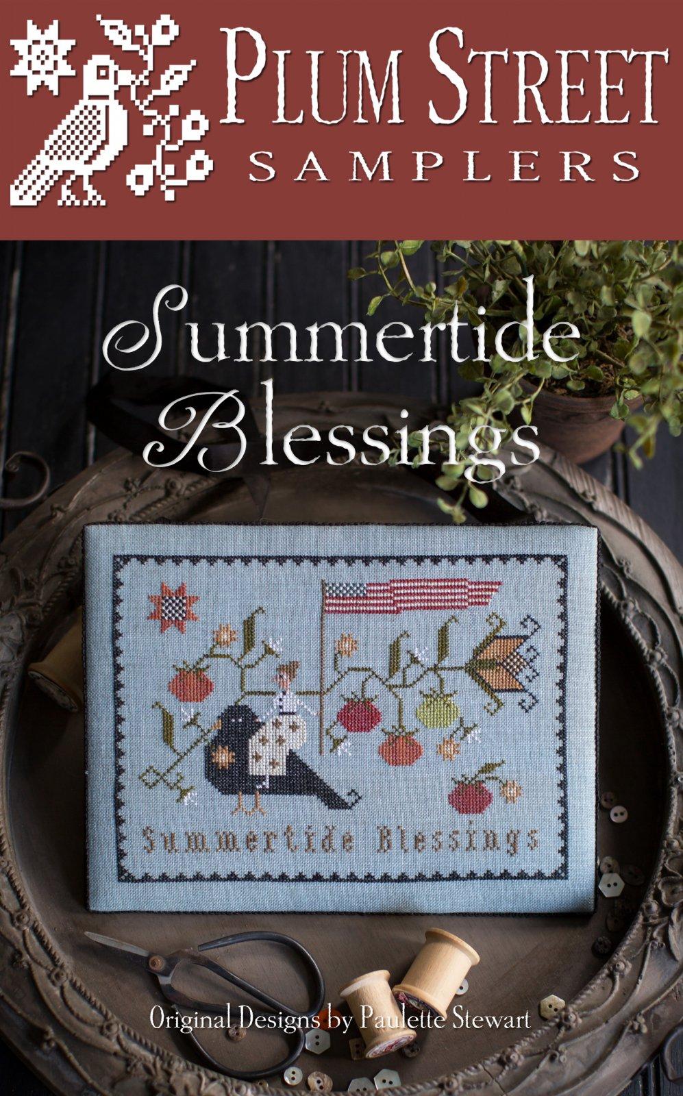 Plum Street Samplers - Summertide Blessings