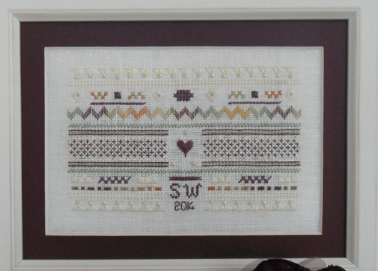 Barberry Row - Teenie Sampler of Stitches