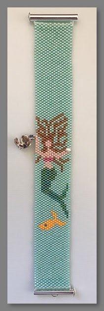 Fern Ridge - Pearl The (Peyote bracelet)