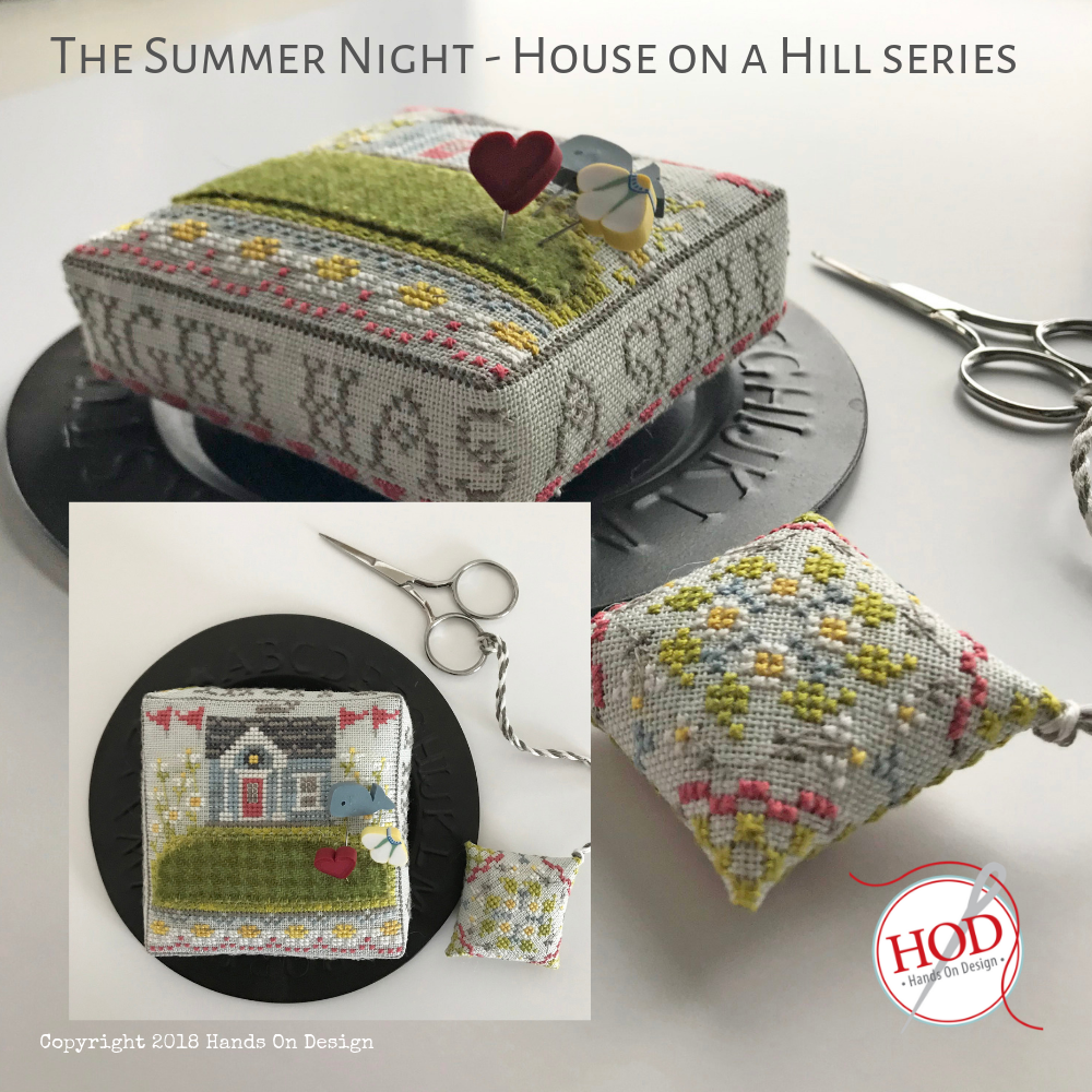 Hands On Design - Summer Night House on a Hill