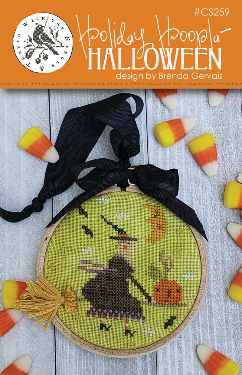 With Thy Needle and Thread - Halloween Holiday Hoopla