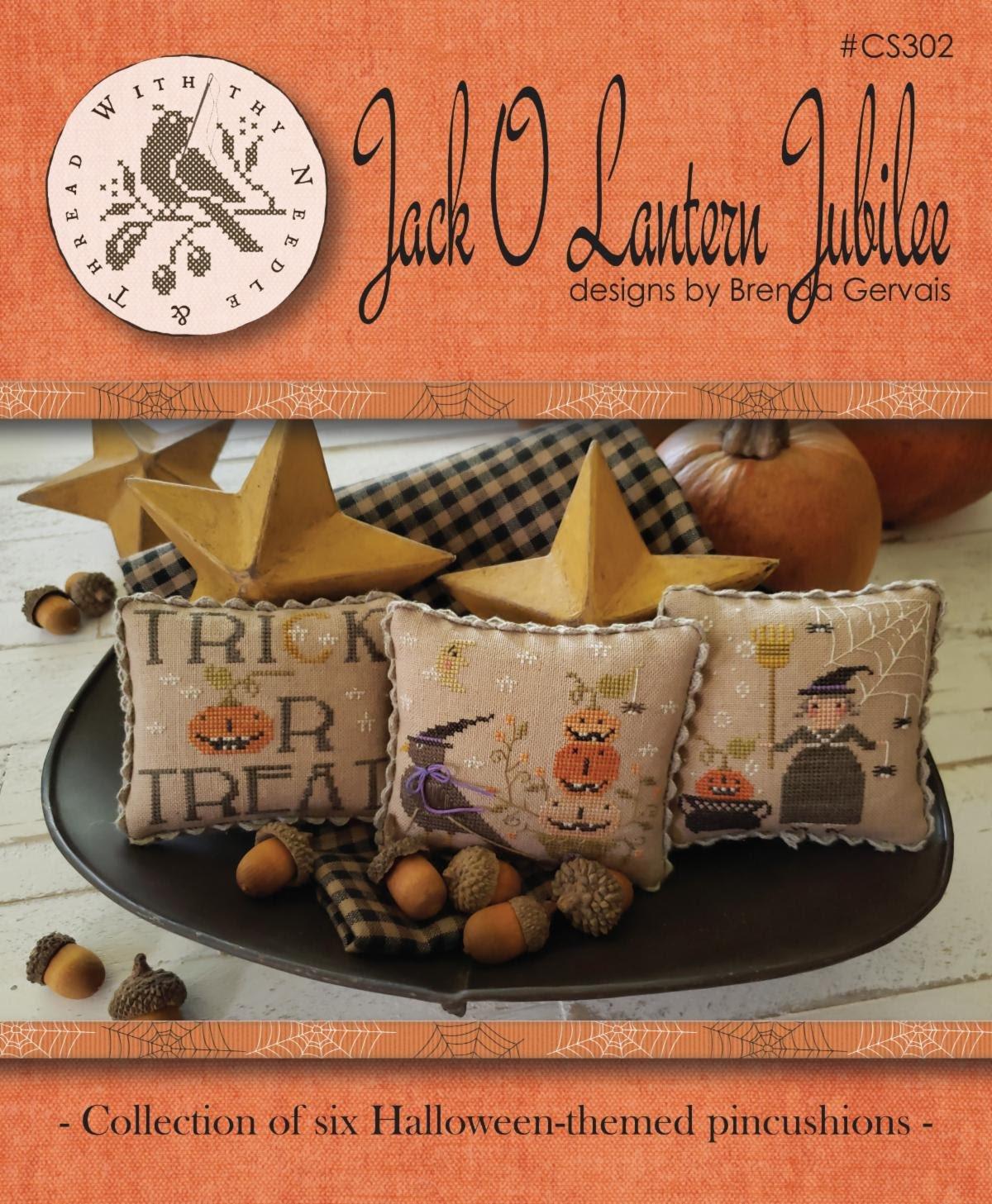With Thy Needle and Thread - Jack O Lantern Jubilee