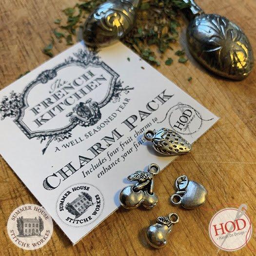 Hands On Design - Cuisine Francaise charm pack