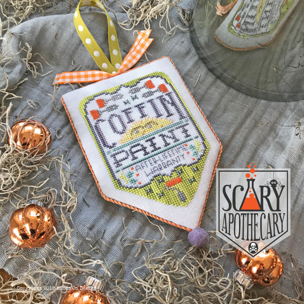 Hands On Design - Coffin Paint Scary Apothecary