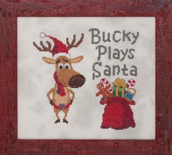 Glendon Place - Bucky Plays Santa