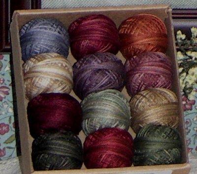 Rosewood Manor - Spring Quakers Valdani Thread Pack