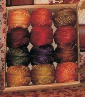 Rosewood Manor - Autumn Quakers Valdani Thread Pack