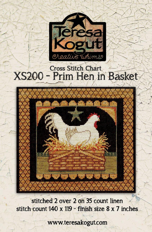 Teresa Kogut - Prim Hen in Basket