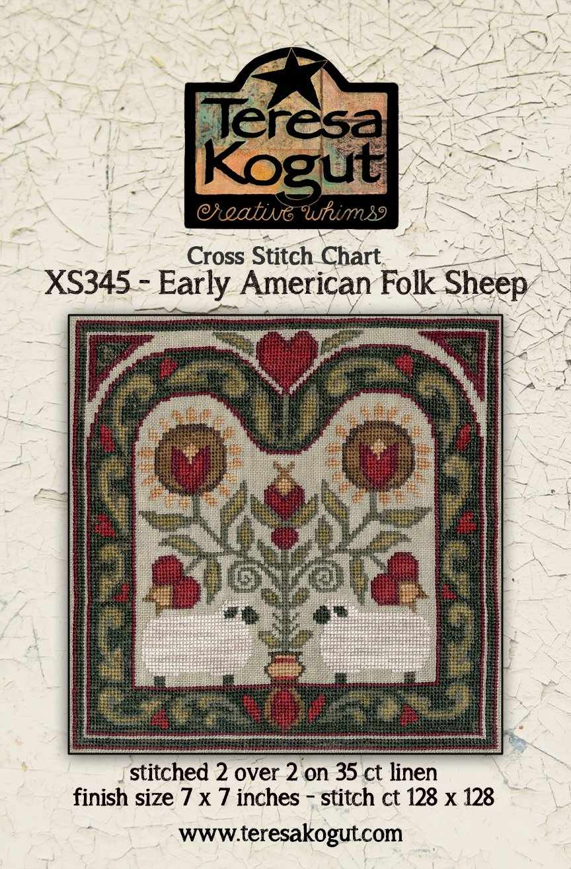 Teresa Kogut - Early American Folk Sheep