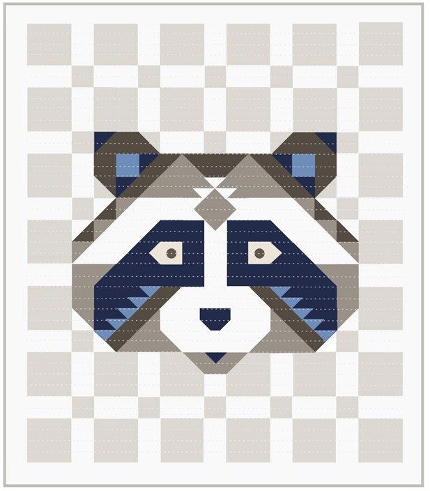 Bella Solids Raccoon Kit