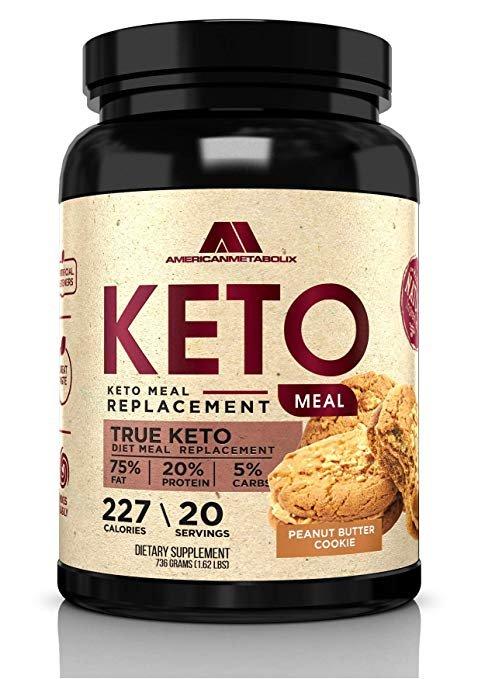 American Metabolix - KETO MEAL - 20 Servings