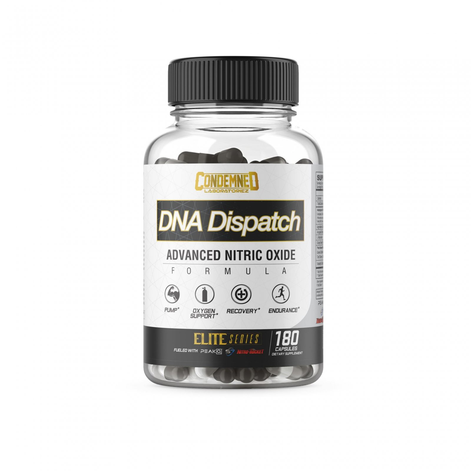 Condemned Labz - DNA Dispatch - 180 Capsules