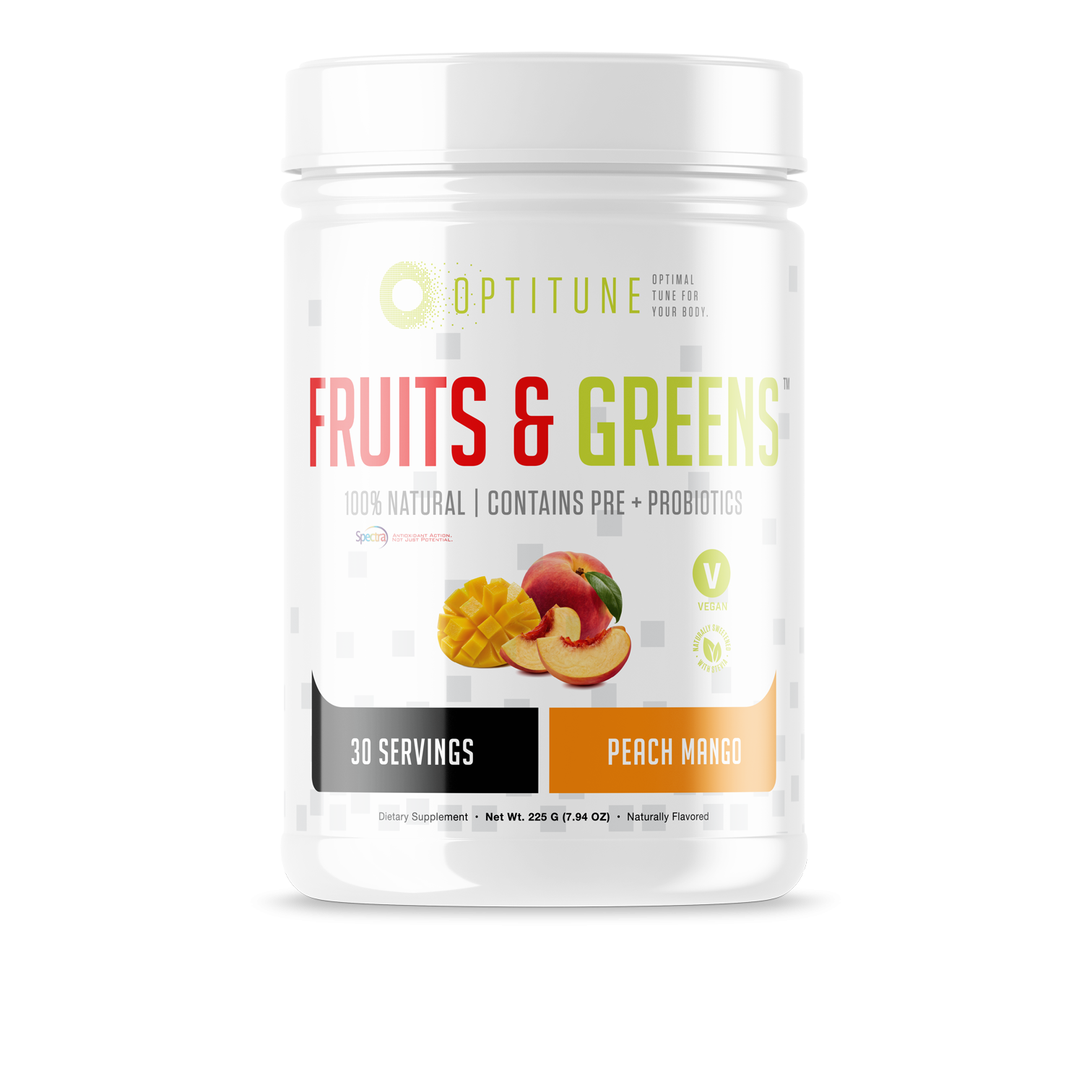 Optitune Nutrition - Fruits & Greens - 30 Servings