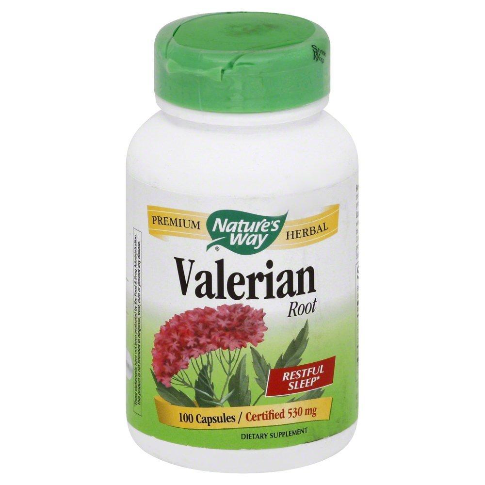 Nature's Way - Valerian Root - 100 Vegetarian Capsules