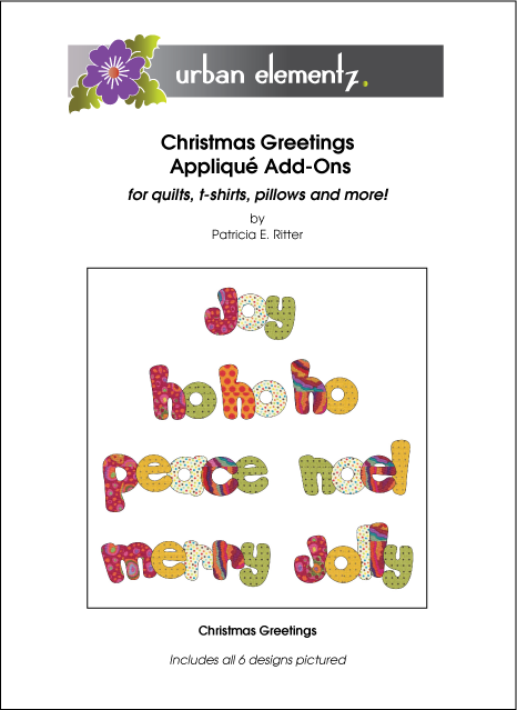Applique Elementz - Christmas Greetings