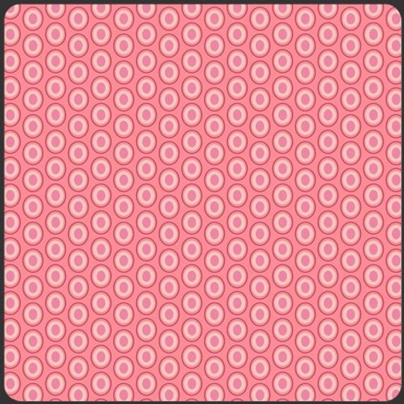 Art Gallery - Oval Elements, Petal Pink