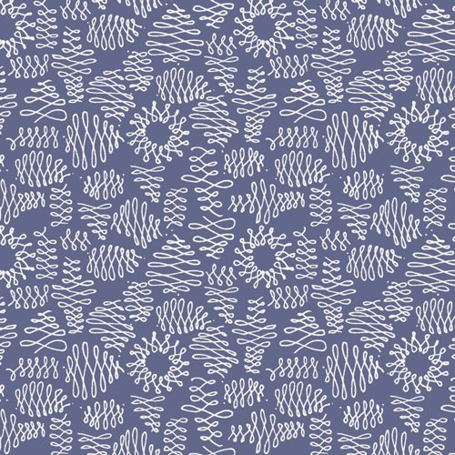 Art Gallery -Luxe in Bloom, Flumes Indigo
