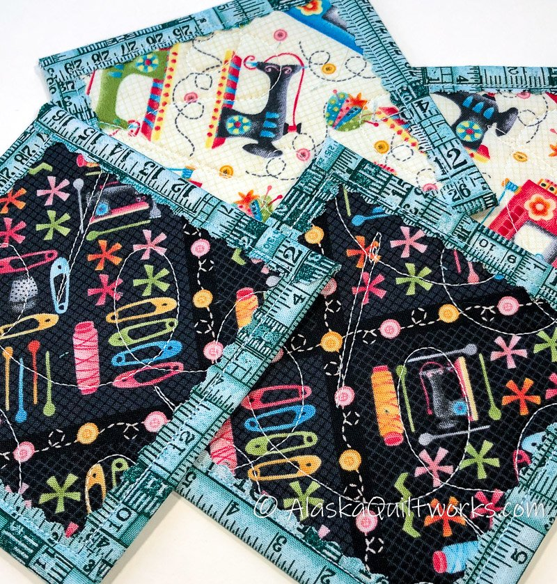 _Coasters - Quilter's Pattern