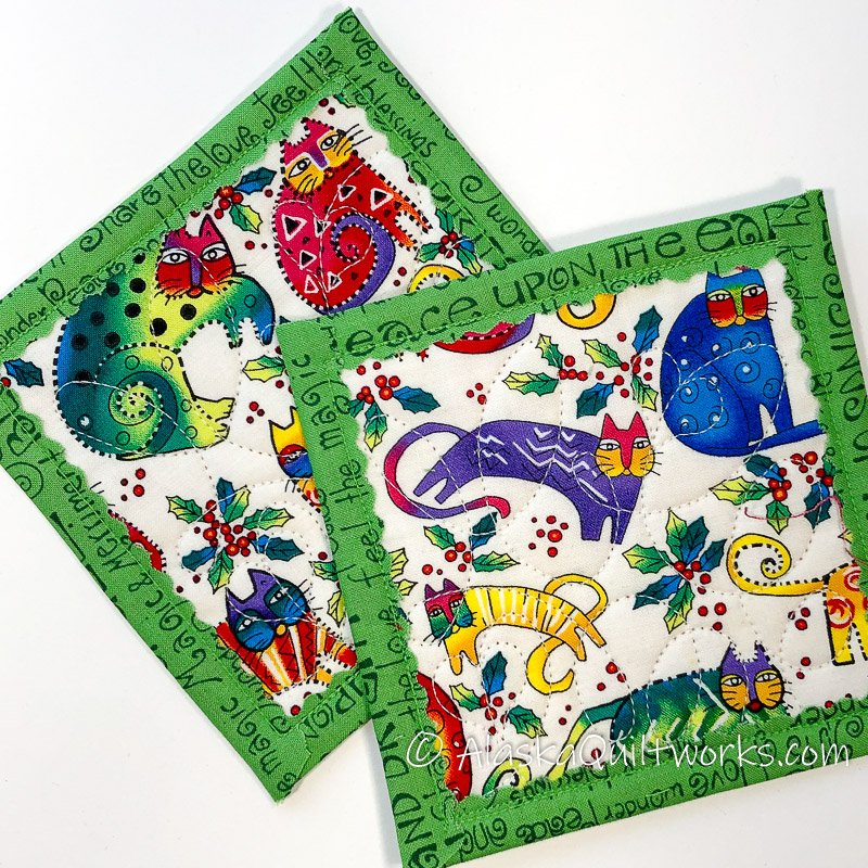 _Coasters - Crazy Cats Green