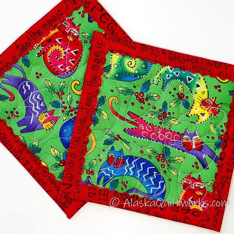 _Coasters - Crazy Cats Red