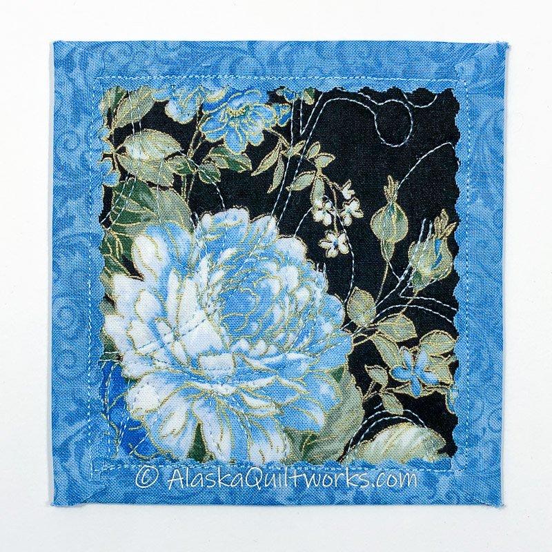 _Coasters - Floral Blues