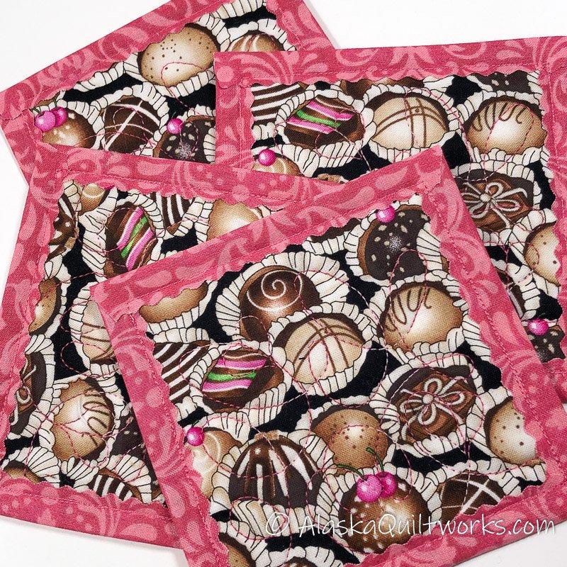 _Coasters - Valentines Chocolates