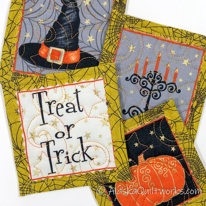 _Coasters - Halloween Varieties - Golden