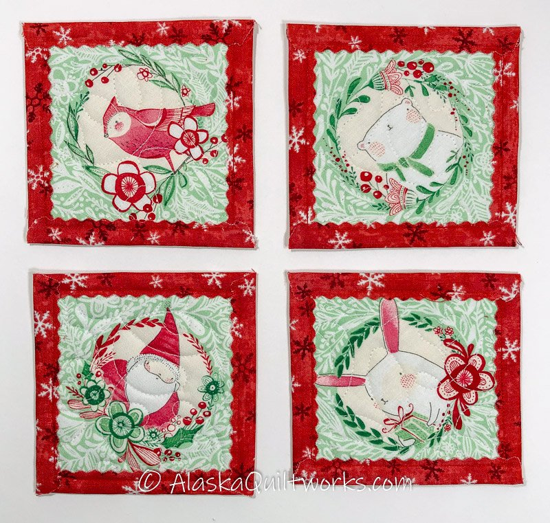 _Coasters - Holiday Characters Varieties - Red