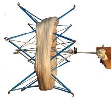 Yarn Winder Umbrella Swift Metal