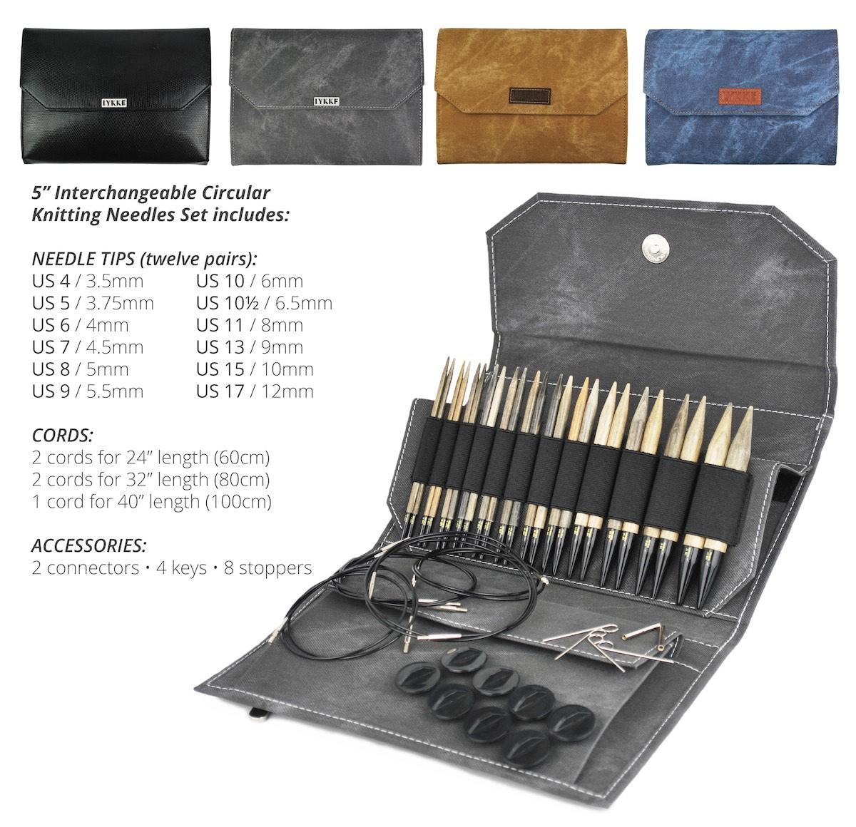 Driftwood 5 Interchangeable Needle Set