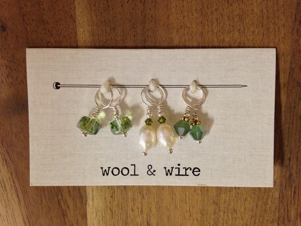 Wool & Wire Mini Stitch Markers